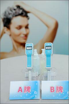 實測洗髮乳酸鹼值範圍在pH4.5~6