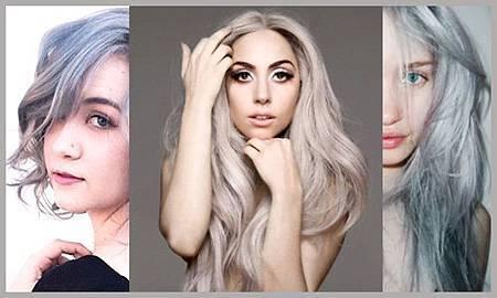 老奶奶銀灰髮