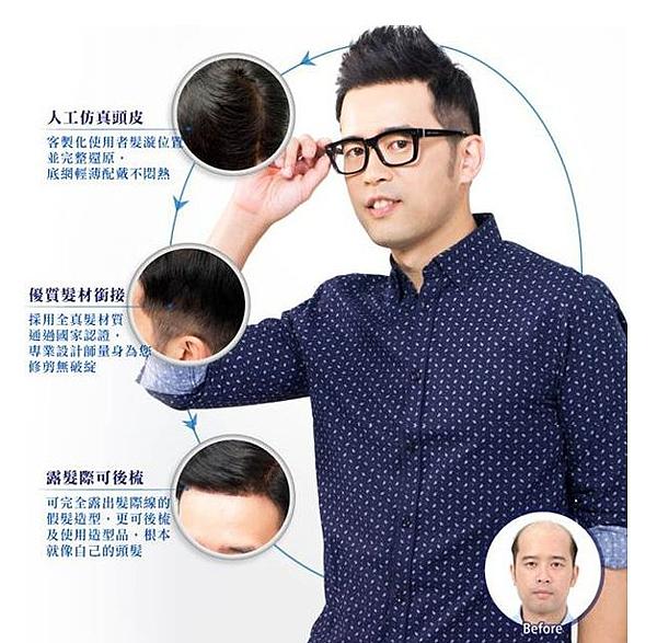 Domo科技假髮