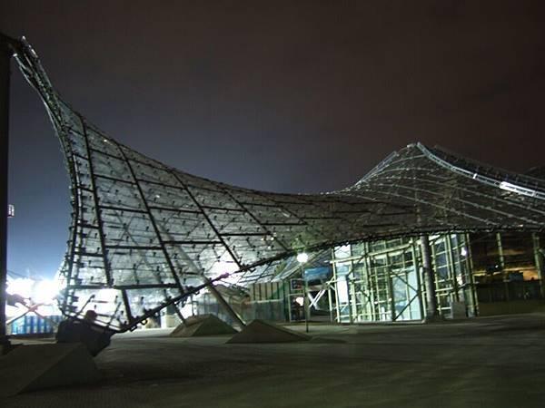 Olympic Park的造景,晚上很美