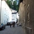 Streets in Salzburg