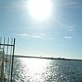 碼頭邊邊的大太陽