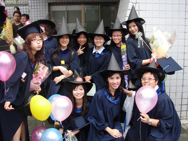 畢業典禮當天