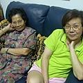 阿姨跟媽媽