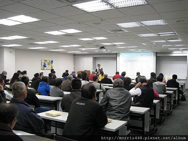 2013工研院牛樟研習第七期 楊經理 講話