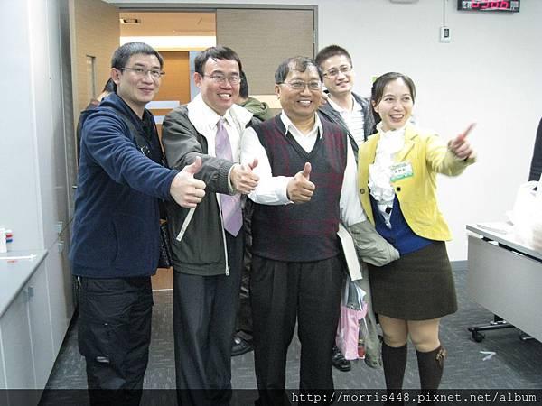 2013工研院牛樟研習第七期 與陳啟祥合影