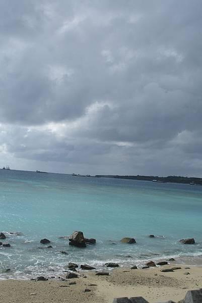 海水好美哦