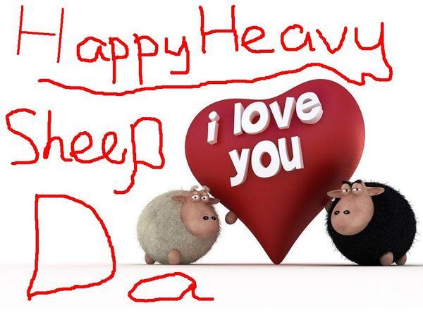 Happy Heavy Sheep Day