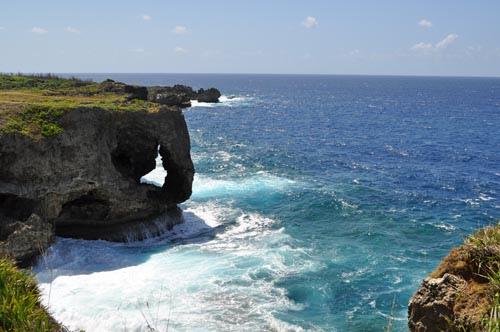 ele--沖繩自由行景點-沖繩必去景點-萬座毛