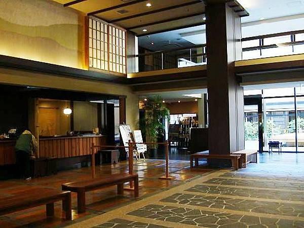 箱根強羅溫泉季之湯雪月花酒店大堂