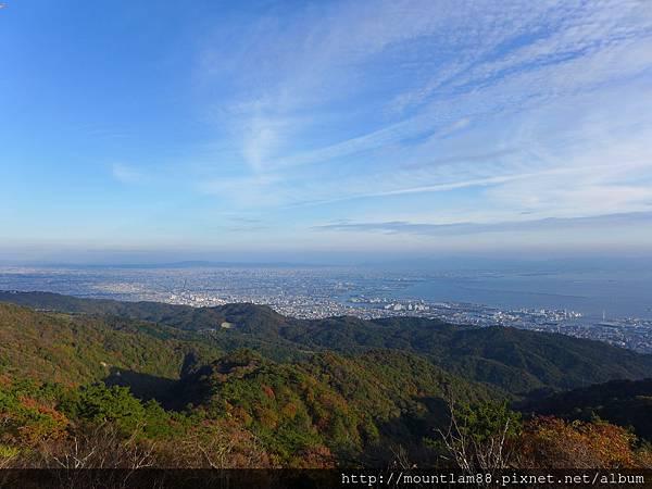 神戶六甲山景色