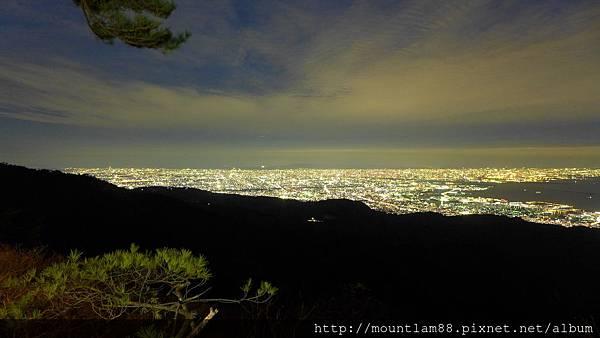 神戶六甲山夜景