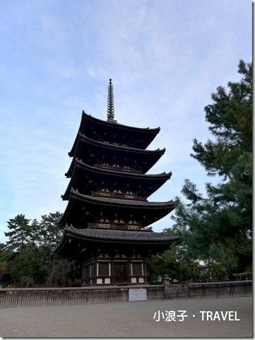 奈良自由行_奈良一日遊行程_興福寺