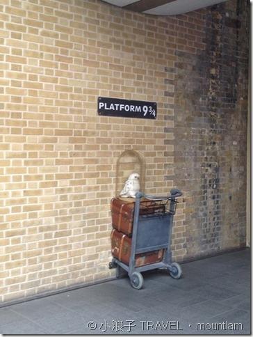 倫敦景點-哈利波特月台