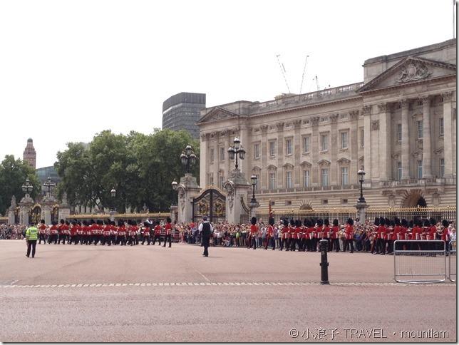 倫敦行程-衛兵交接