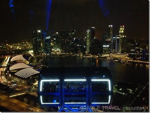 新加坡【景點】10大必去自由行旅遊景點-摩天輪-夜景