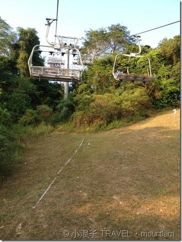 新加坡自由行 景點 聖淘沙 Sentosa Skyline Luge斜坡滑車與空中吊椅2