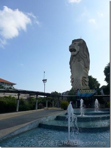 新加坡自由行 景點 聖淘沙 魚尾獅