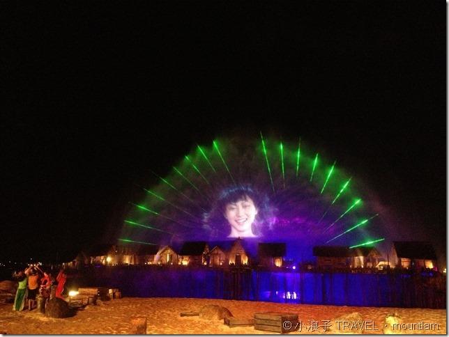 新加坡自由行 景點 聖淘沙 海上匯演Wings of Time3