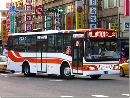 台北自由行交通_巴士