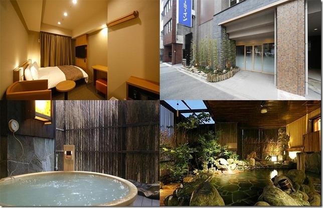 東京市內溫泉酒店旅館_dormy inn八丁堀