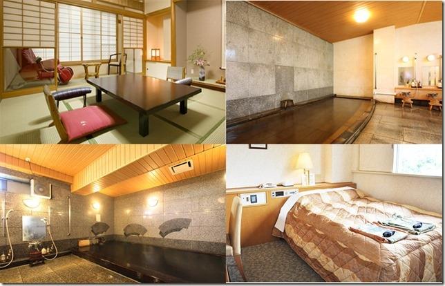 東京市內溫泉酒店旅館_水月飯店鷗外莊