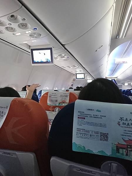 中國東方航空Boeing 737-700機艙3