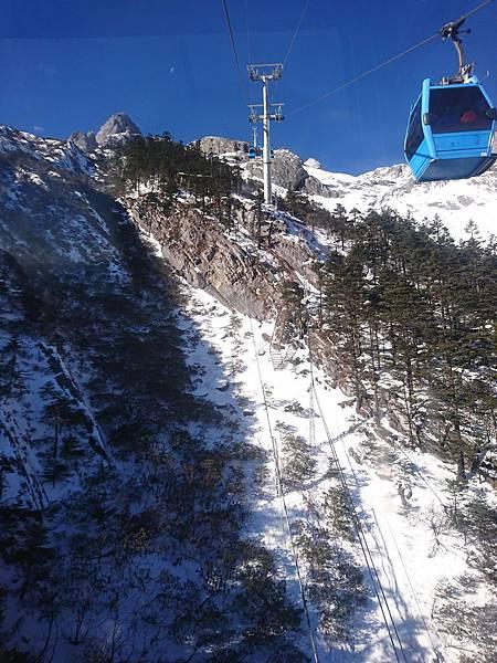 玉龍雪山纜車