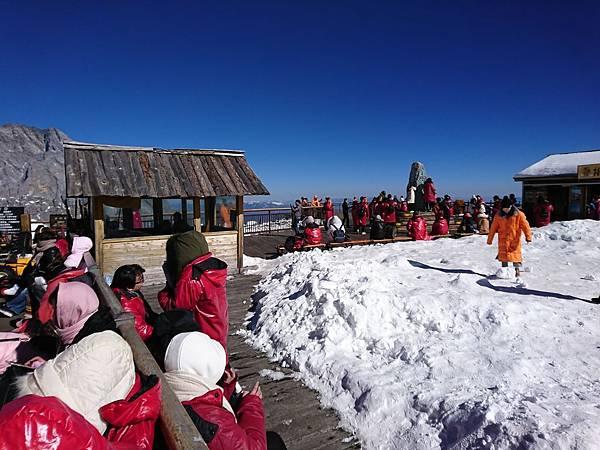 玉龍雪山瞭望台