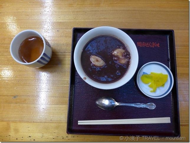 福岡自由行景點川端商店街紅豆湯3