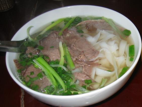 越南美食河粉