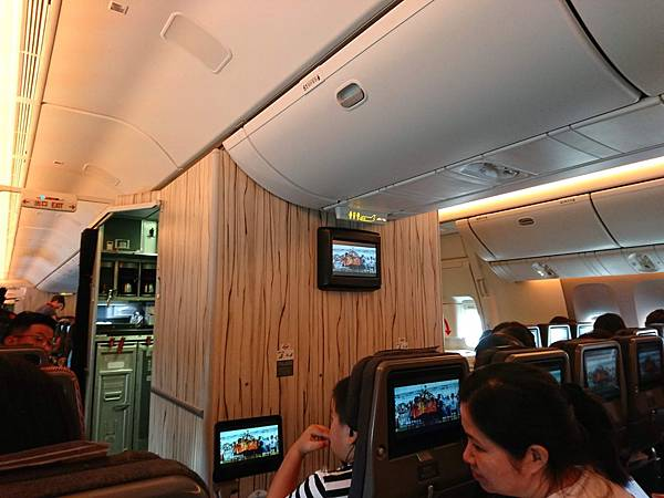 中華航空Boeing 747-400機艙
