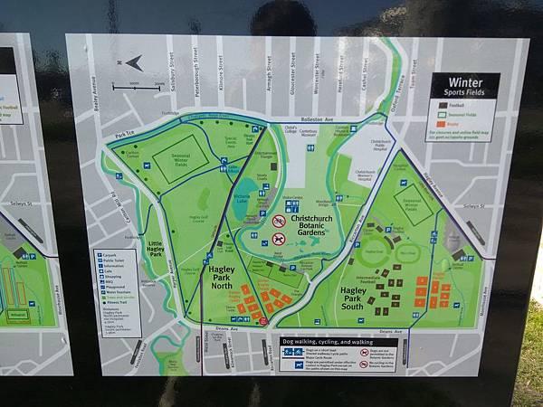 基督城景點– Hagley Park海格利公園