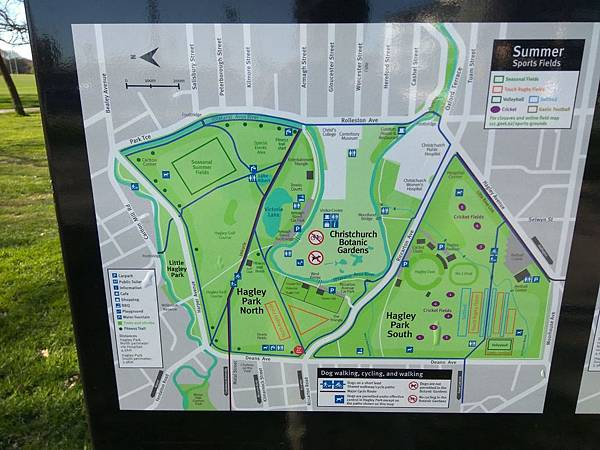 基督城景點– Hagley Park海格利公園的夏天