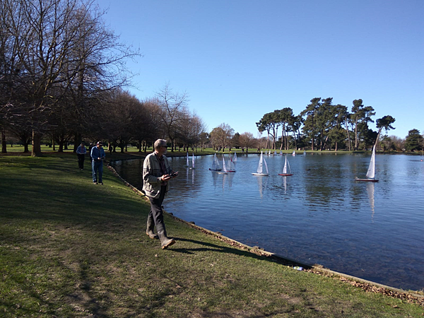 christchurch景點– Hagley Park海格利公園湖