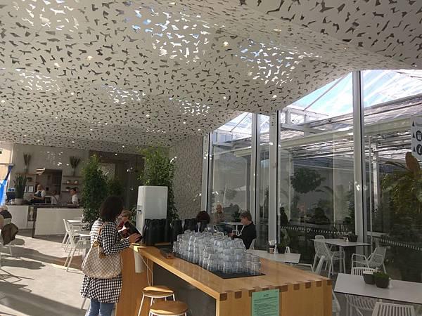 christchurch景點– Hagley Park海格利公園內的cafe, 遊客中心