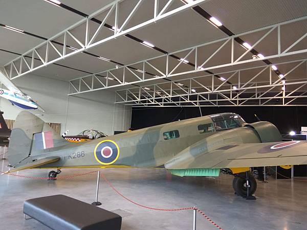 基督城景點 新西蘭空軍博物館內的戰機