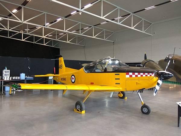 基督城景點 新西蘭空軍博物館內的戰機02