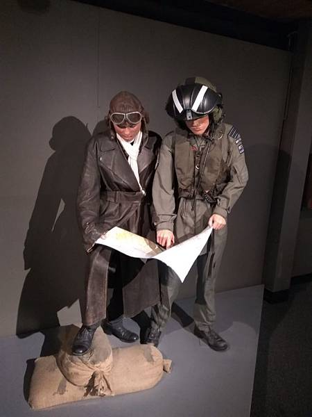 Christchurch市內景點-air force museum展品之軍人用品