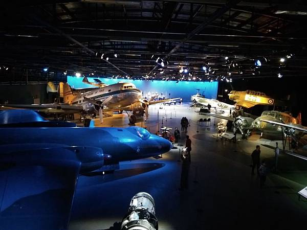 Christchurch市內景點-air force museum展品之大型戰機