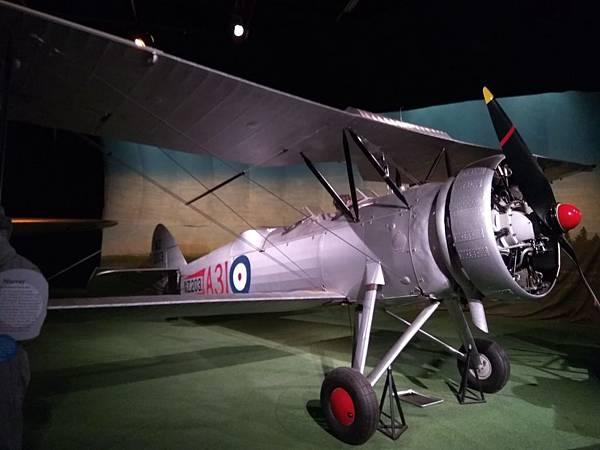 Christchurch市內景點-air force museum展品之大型戰機2