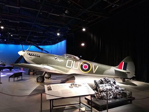 Christchurch市內景點-air force museum展品之大型戰機3