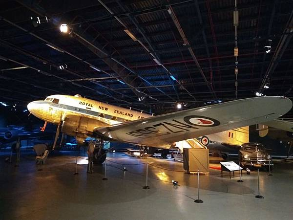Christchurch市內景點-air force museum展品之大型戰機4