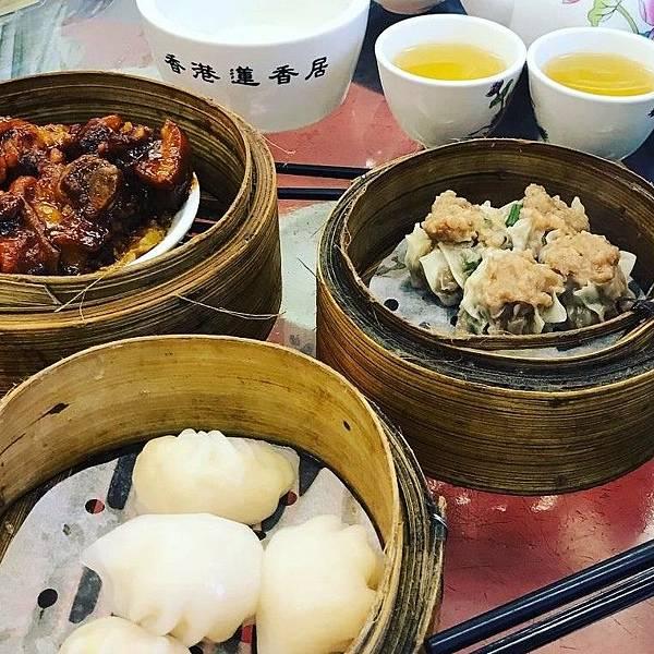 香港自由行必食港式飲茶
