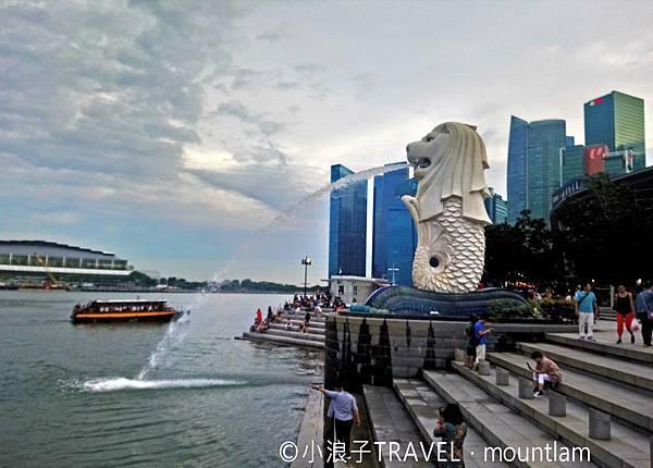 新加坡自由行5日4夜行程_景點:魚尾獅