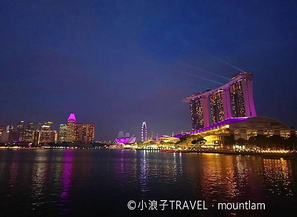 新加坡自由行5日4夜行程_景點:新加坡夜景