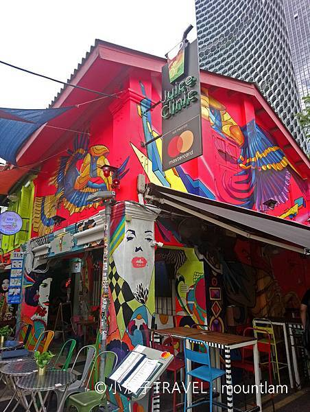 新加坡自由行5日4夜行程_景點:哈芝巷Haji Lane2