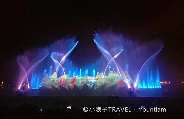 新加坡自由行遊記親子_親子景點:聖淘沙表演時光之翼wings of time