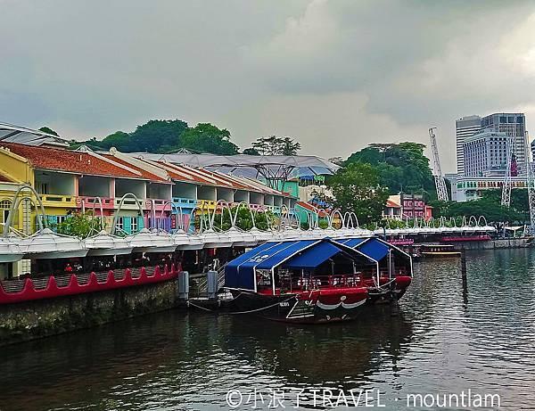 新加坡自由行5日4夜_新加坡旅遊景點:克拉碼頭Clark Pier