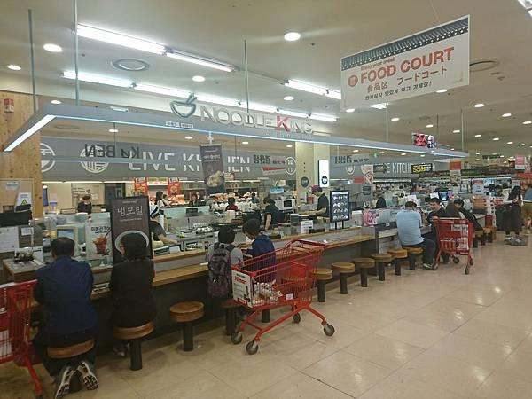 首爾店樂天超市Food Court